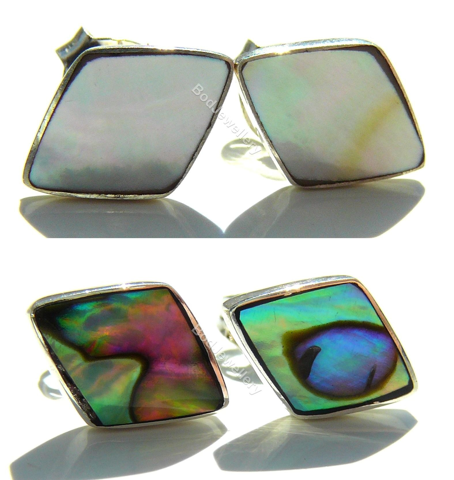 stud pin abalone green dana earrings asymmetrical buchman simulated s women